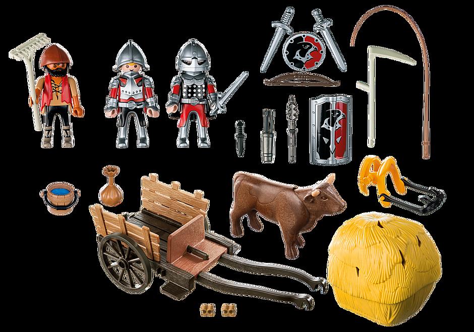 6005 Chevaliers de l`Aigle avec charrette piégée detail image 4