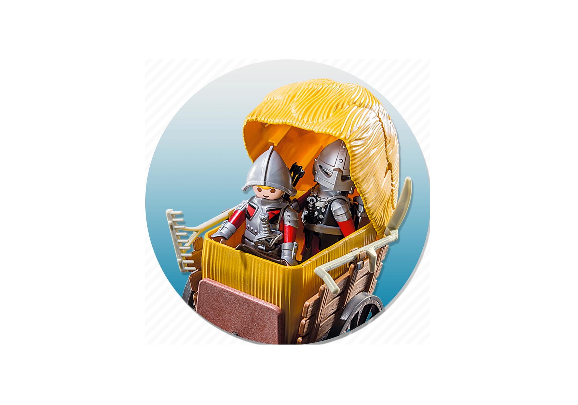 http://media.playmobil.com/i/playmobil/6005_product_extra1/Рыцари: Рыцари Сокола с камуфляжной повозкой