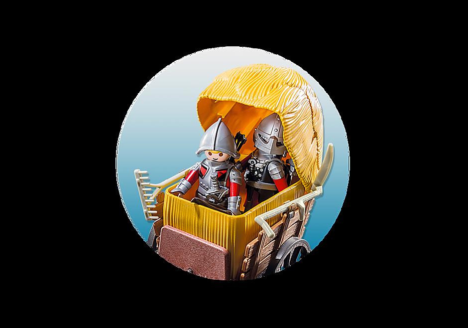 6005 Chevaliers de l`Aigle avec charrette piégée detail image 5