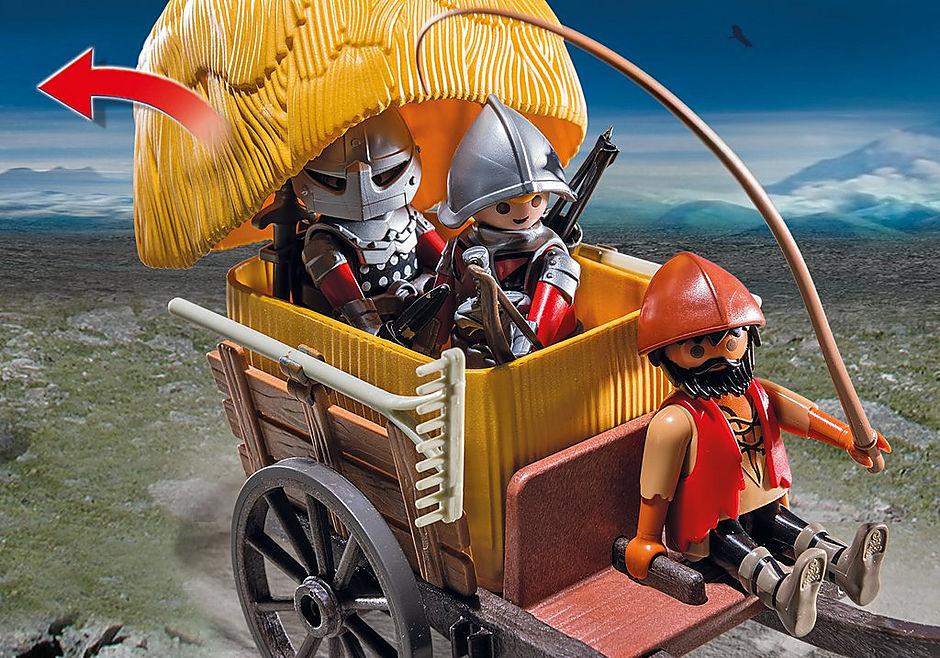 6005 Chevaliers de l`Aigle avec charrette piégée detail image 7