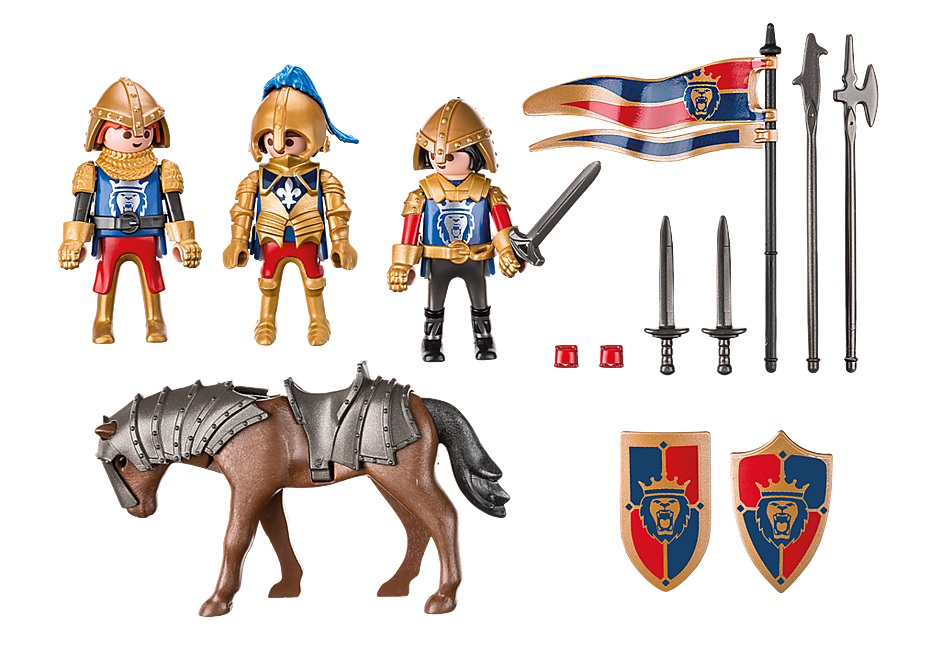 http://media.playmobil.com/i/playmobil/6006_product_box_back/Рыцари: Разведывательный патруль Рыцарей Льва