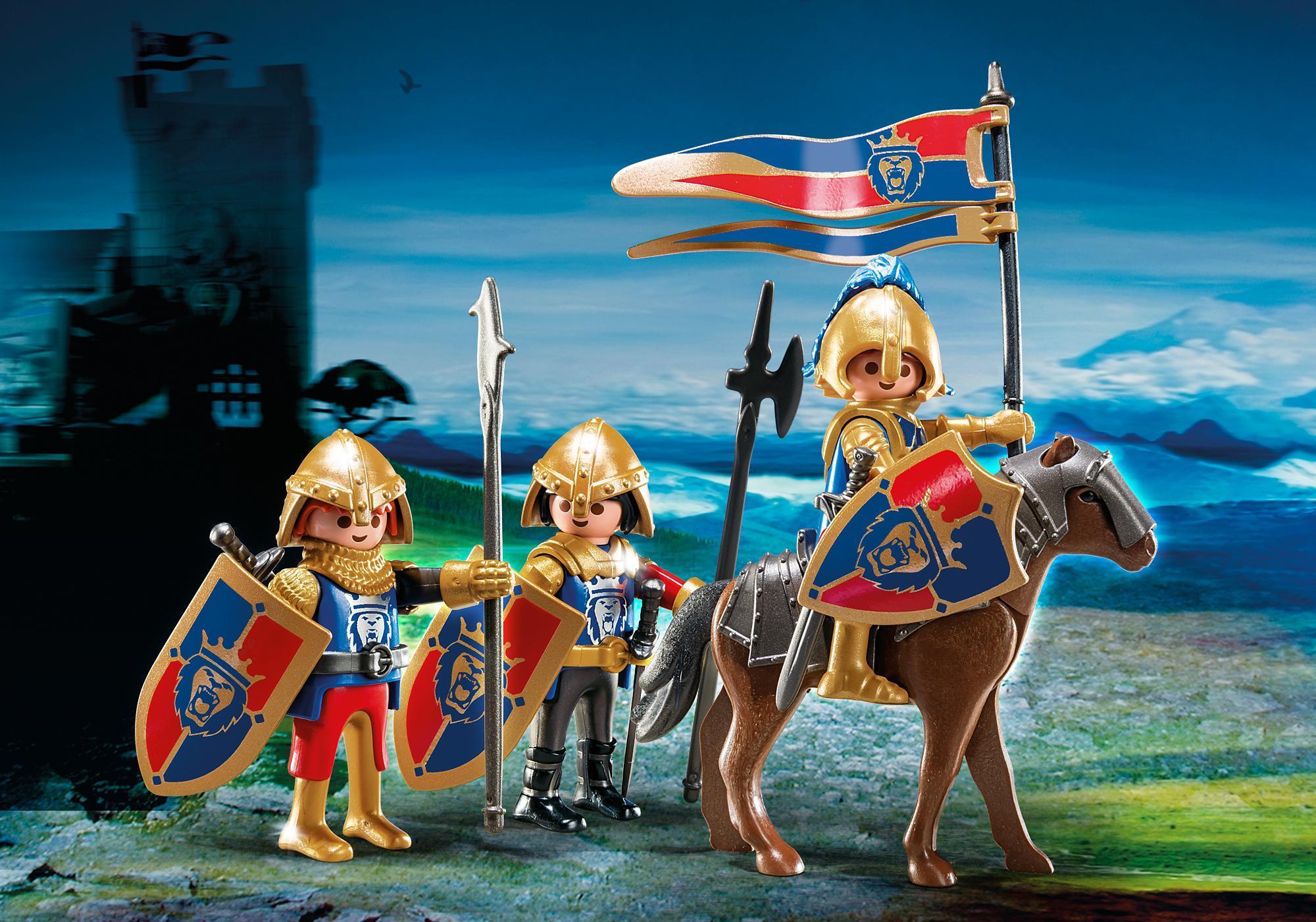 http://media.playmobil.com/i/playmobil/6006_product_detail/Рыцари: Разведывательный патруль Рыцарей Льва