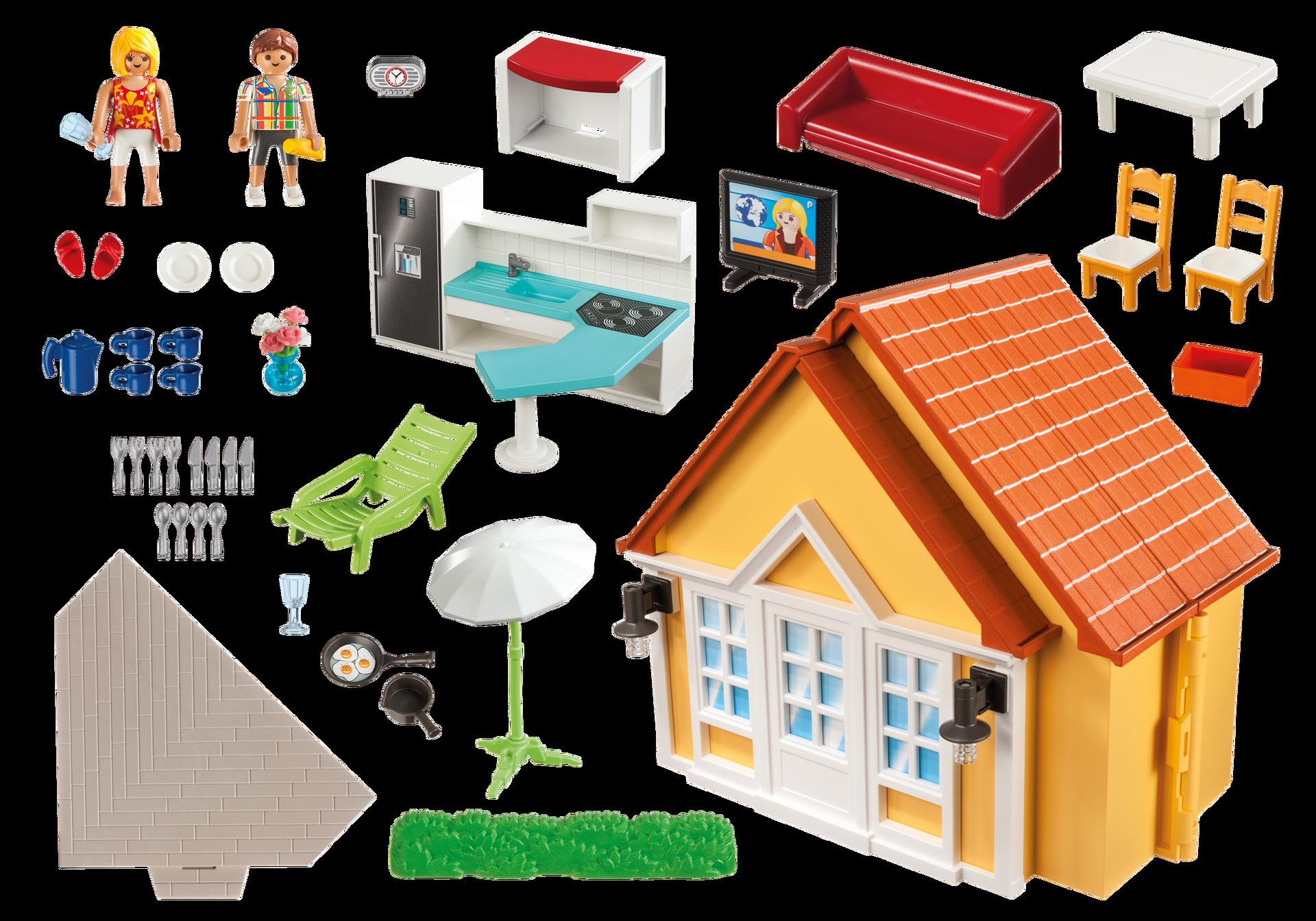 Casa de campo malet n 6020 playmobil espa a for Casa maletin playmobil