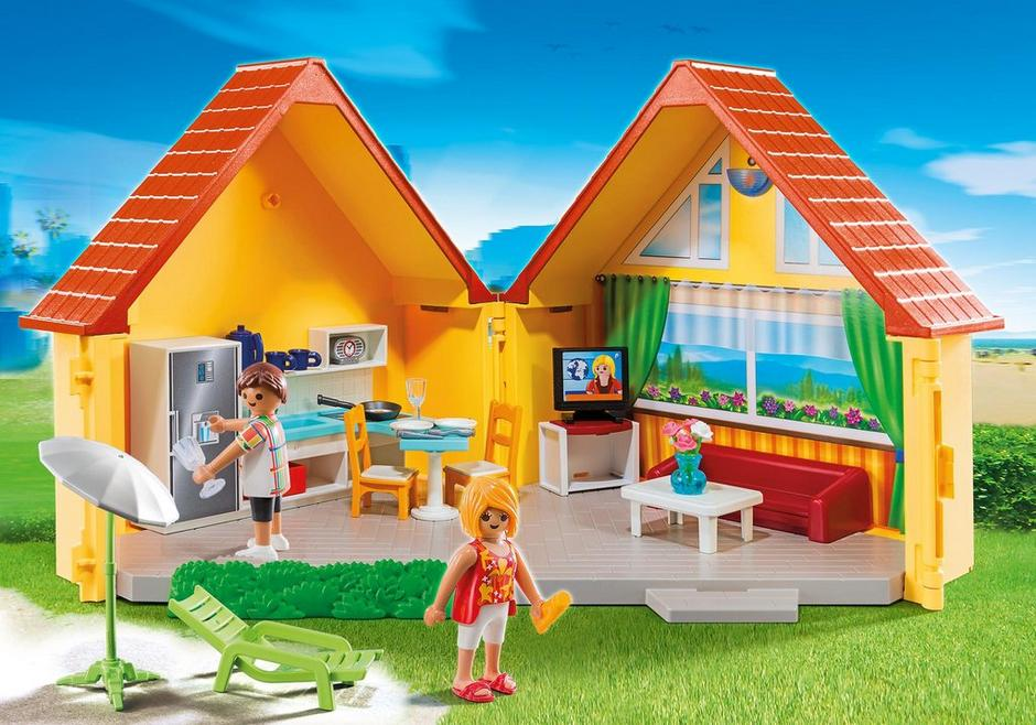 maison de vacances 6020 playmobil france. Black Bedroom Furniture Sets. Home Design Ideas