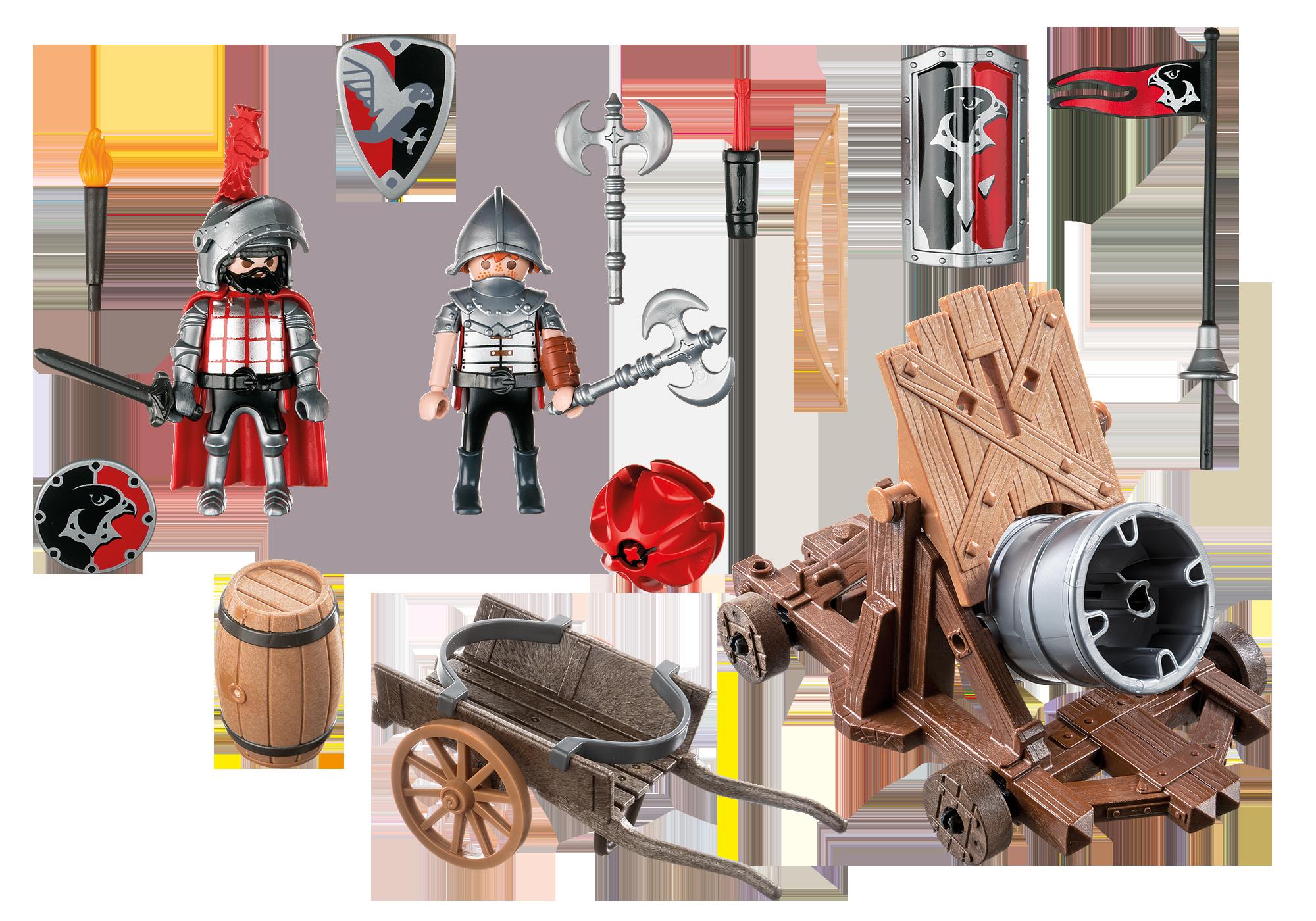 http://media.playmobil.com/i/playmobil/6038_product_box_back/Hawk Knights` Battle Cannon