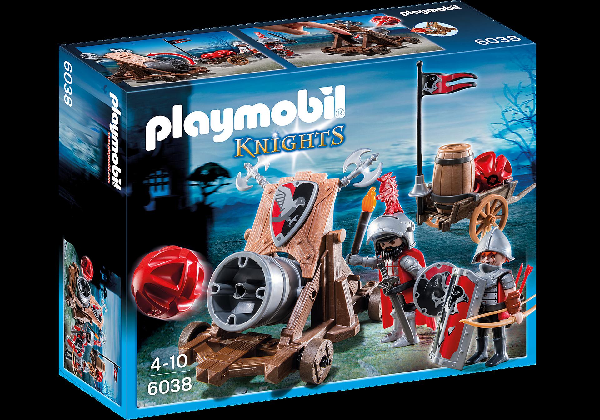 http://media.playmobil.com/i/playmobil/6038_product_box_front/Olbrzymia armata rycerzy herbu Sokół
