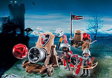 6038_product_detail/Olbrzymia armata rycerzy herbu Sokół
