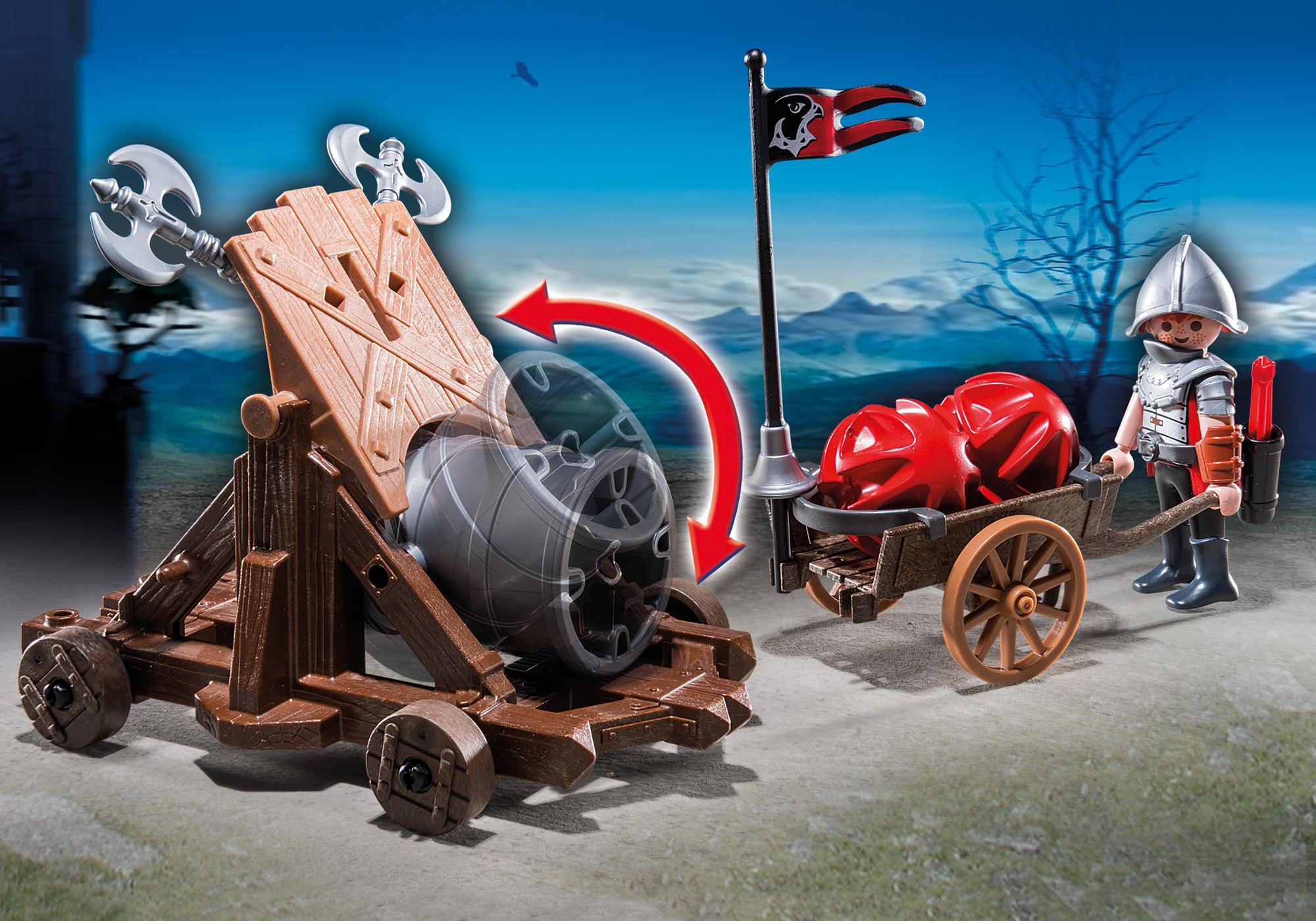 http://media.playmobil.com/i/playmobil/6038_product_extra1/Hawk Knights` Battle Cannon