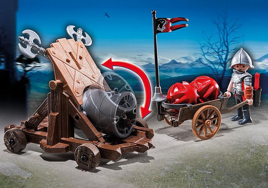 http://media.playmobil.com/i/playmobil/6038_product_extra1/Olbrzymia armata rycerzy herbu Sokół