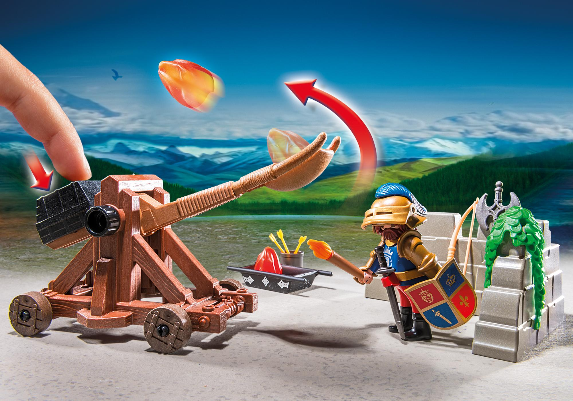 http://media.playmobil.com/i/playmobil/6039_product_extra1/Рыцари: Катапульта Рыцарей Льва