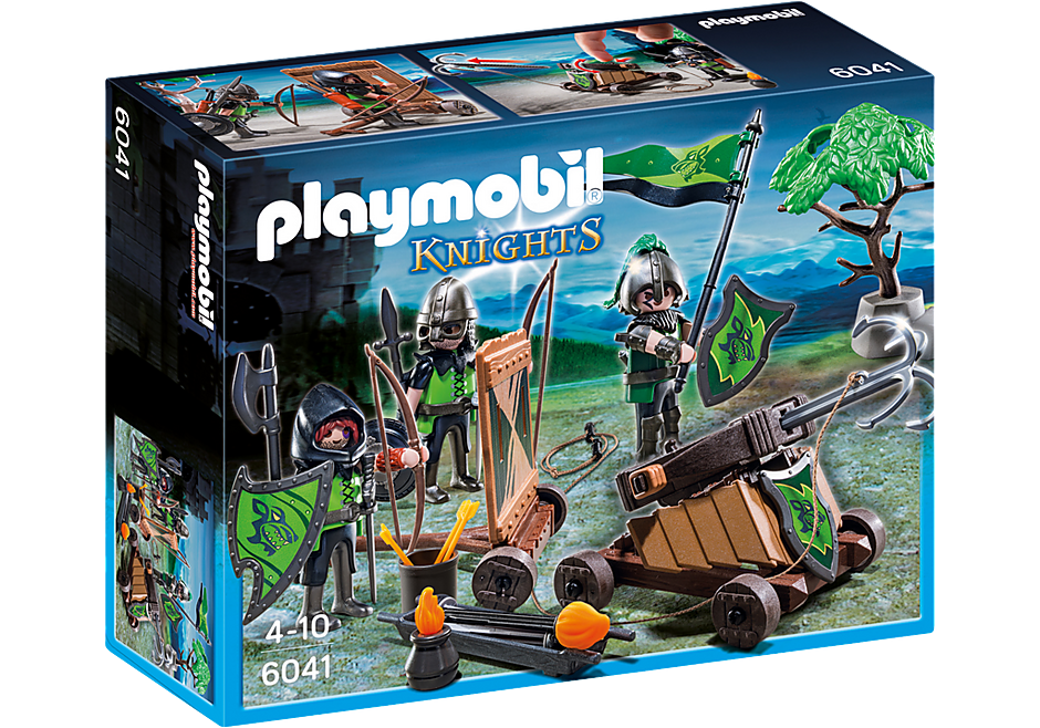 http://media.playmobil.com/i/playmobil/6041_product_box_front/Рыцари: Катапульта Рыцарей Волка