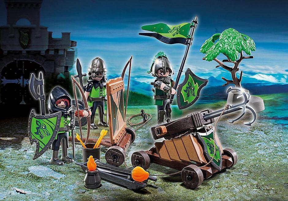 http://media.playmobil.com/i/playmobil/6041_product_detail/Oddział bojowy rycerzy herbu Wilk
