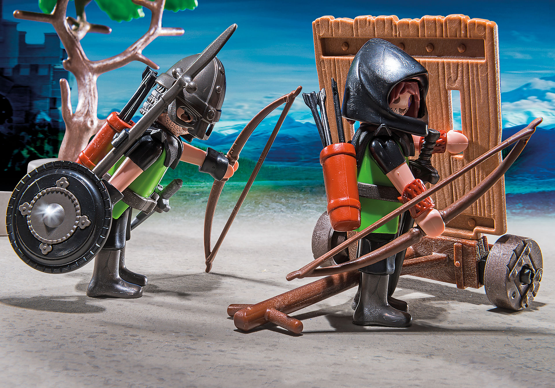 http://media.playmobil.com/i/playmobil/6041_product_extra1/Cavaleiros do Lobo com Catapulta