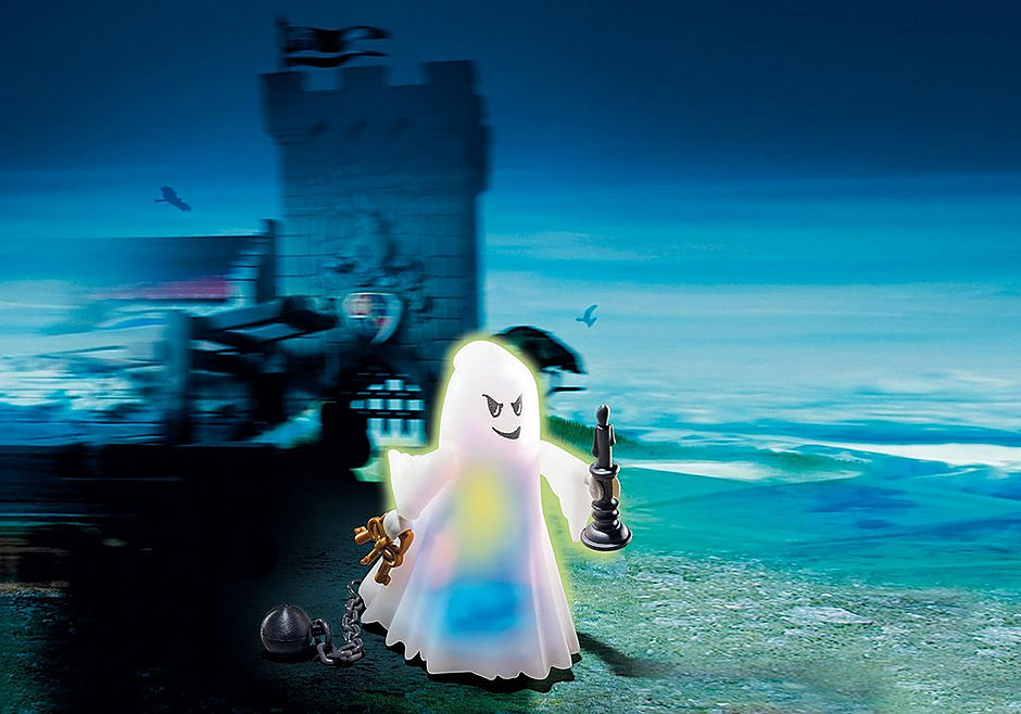 6042 Castle Ghost with Rainbow LED detail image 1