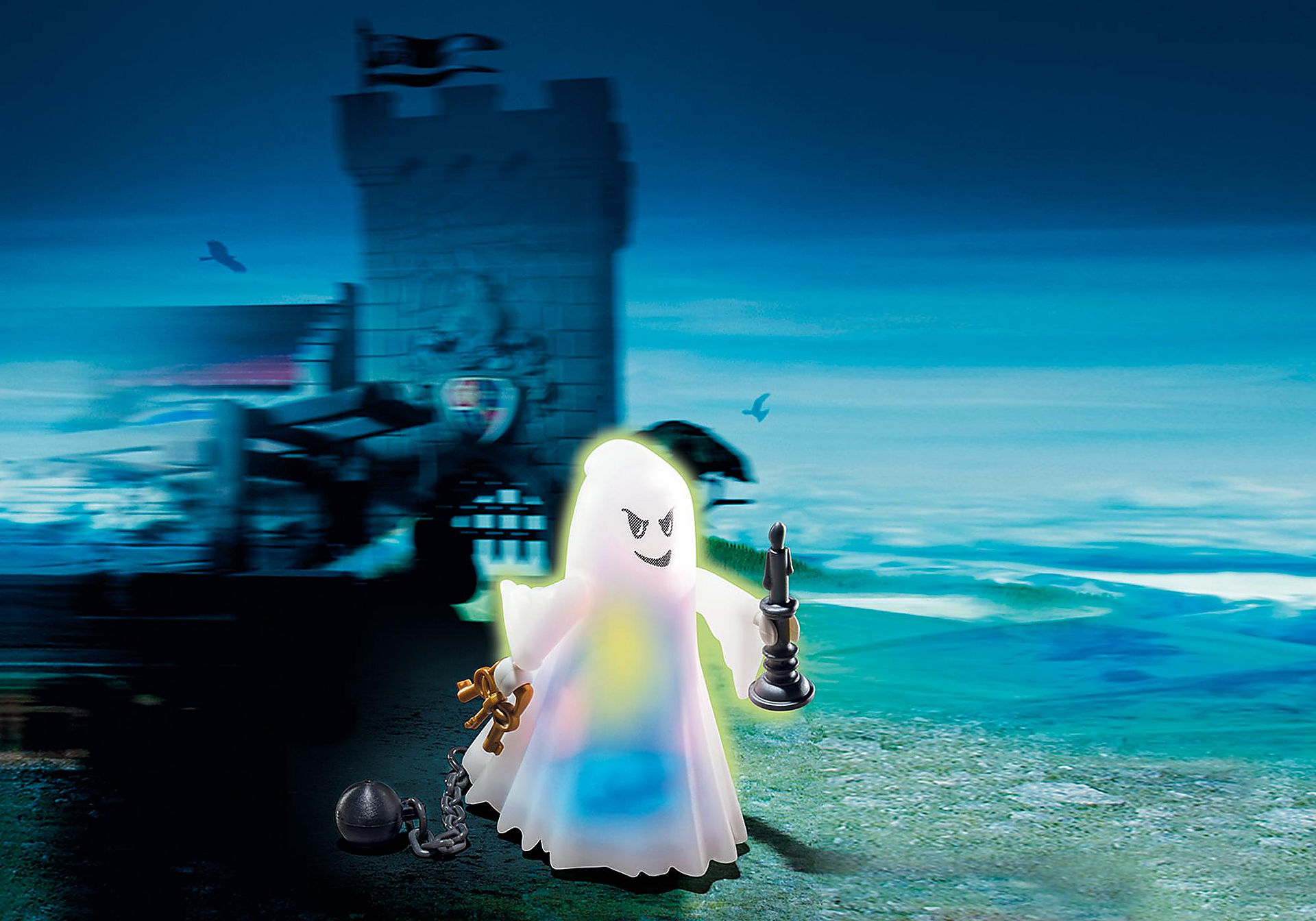 6042 Castle Ghost with Rainbow LED zoom image1