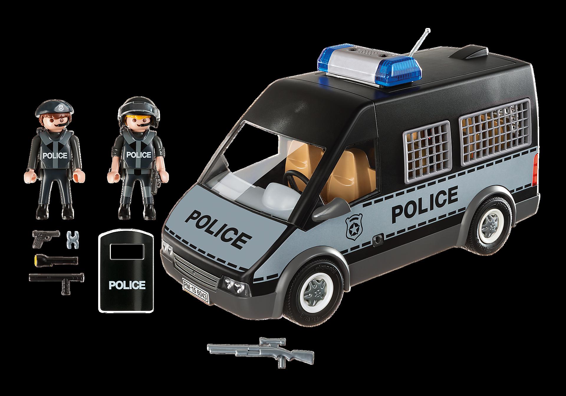 http://media.playmobil.com/i/playmobil/6043_product_box_back/Furgón de Policía con Luces y Sonido