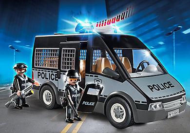 6043 Furgón de Policía con Luces y Sonido