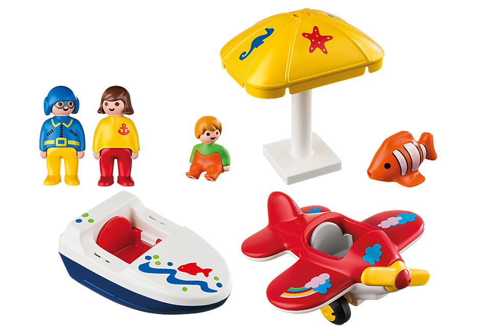 http://media.playmobil.com/i/playmobil/6050_product_box_back/Te land, ter zee en in de lucht