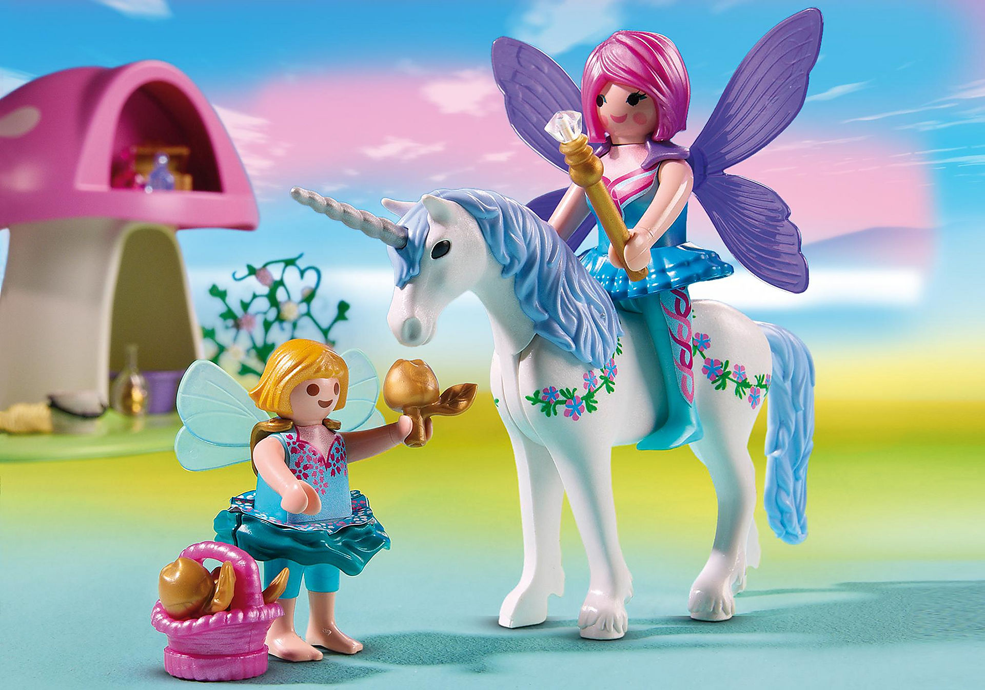 http://media.playmobil.com/i/playmobil/6055_product_extra1/Fairies with Toadstool House