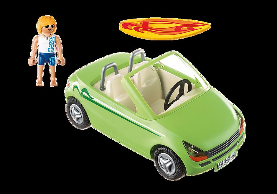 6069 Surfeur et voiture décapotable  detail image 3
