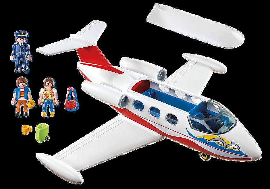 6081 Avion avec pilote et touristes detail image 3