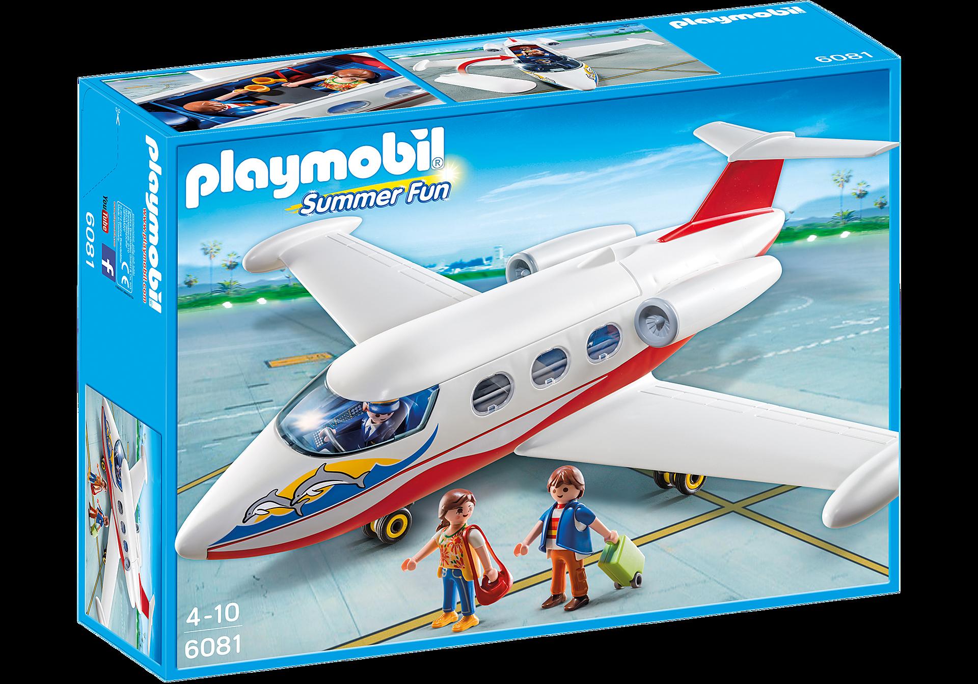 6081 Flygplan med pilot och turister zoom image2