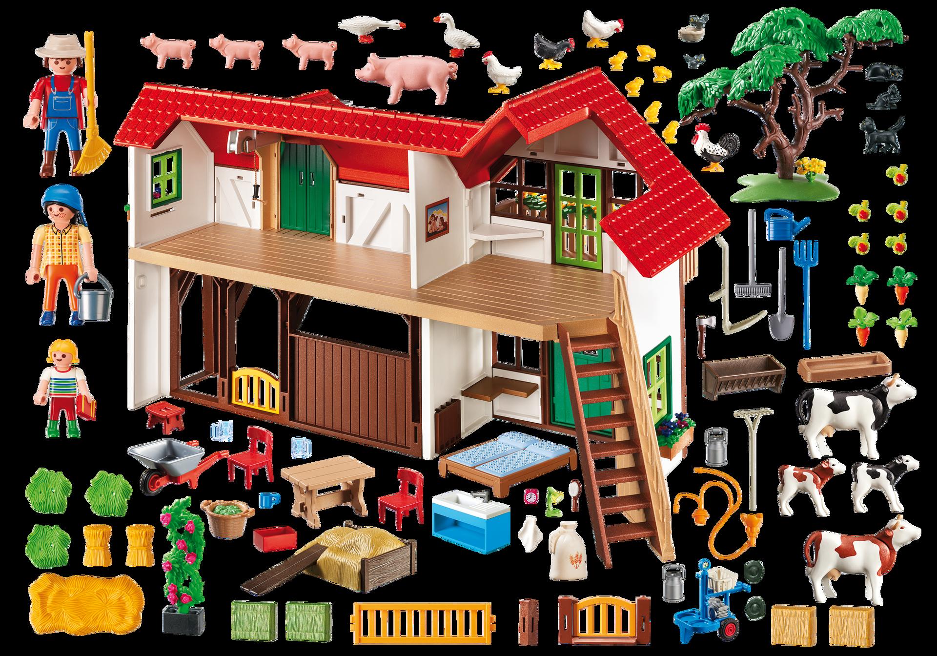 Grote boerderij 6120 playmobil nederland for La granja de playmobil precio