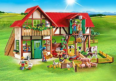 6120 Großer Bauernhof