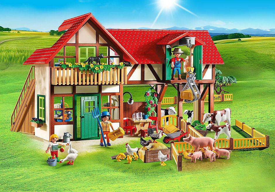 großer bauernhof  6120  playmobil® deutschland