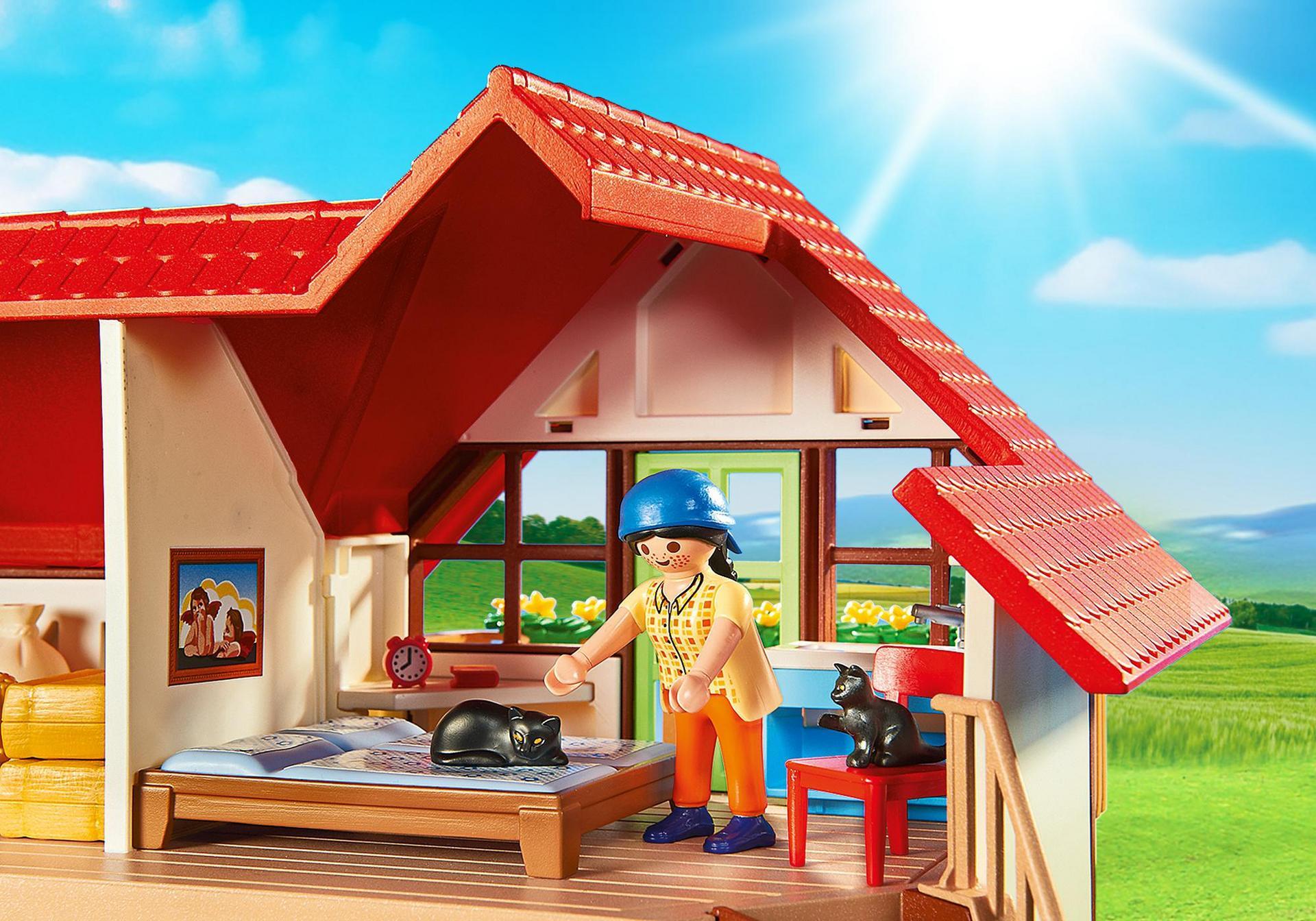 Grande ferme 6120 playmobil france for La granja de playmobil precio