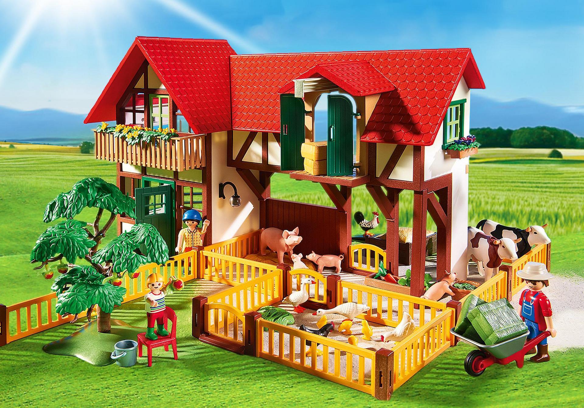Grande ferme 6120 playmobil france for Foto di piani di costruzione di fattoria