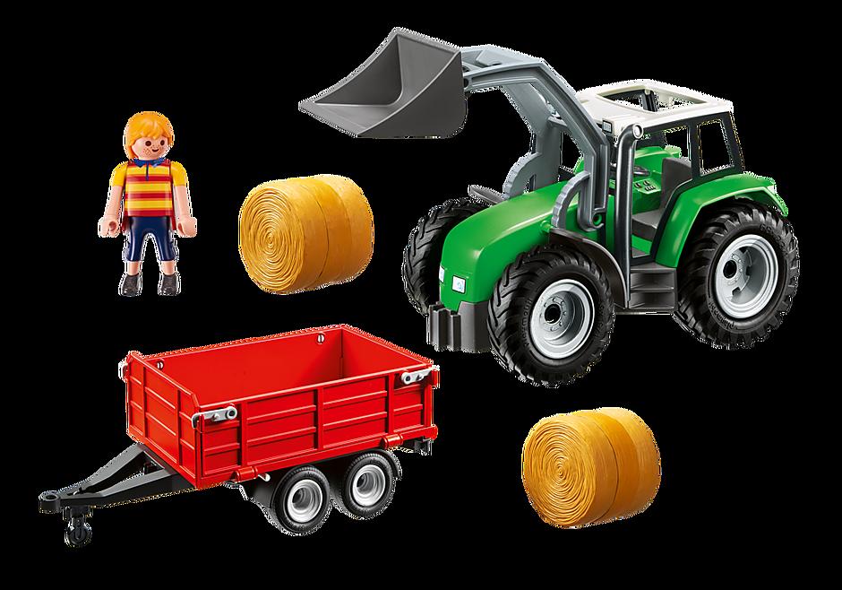 http://media.playmobil.com/i/playmobil/6130_product_box_back/Duży traktor z przyczepą