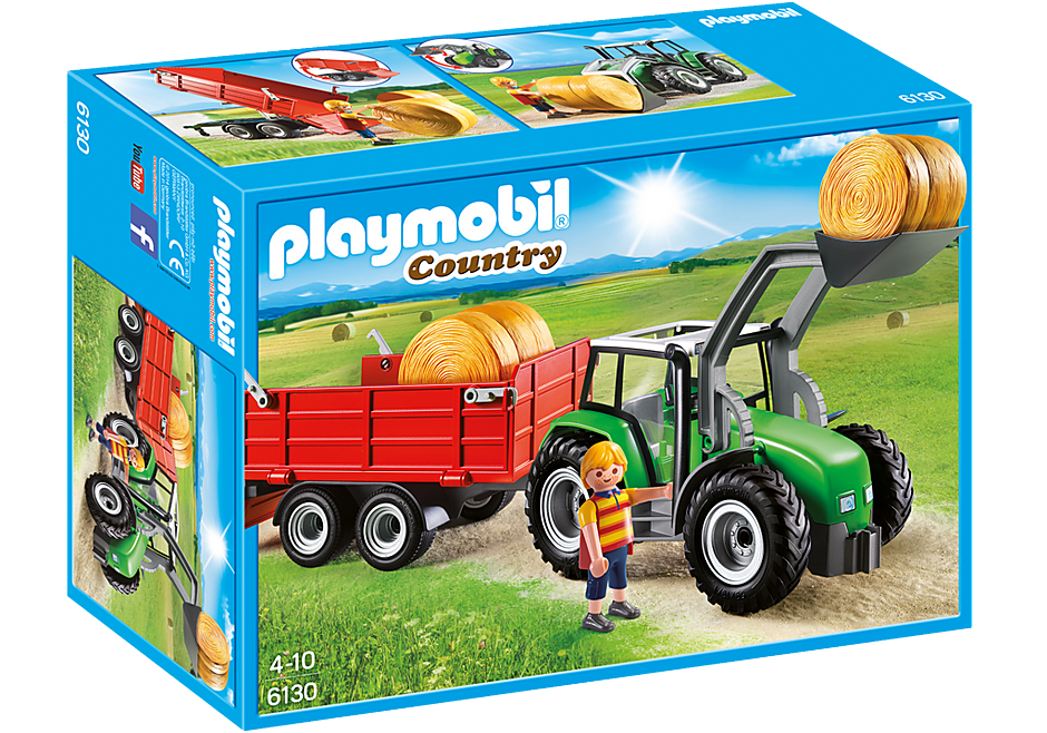 http://media.playmobil.com/i/playmobil/6130_product_box_front/Μεγάλο τρακτέρ με καρότσα