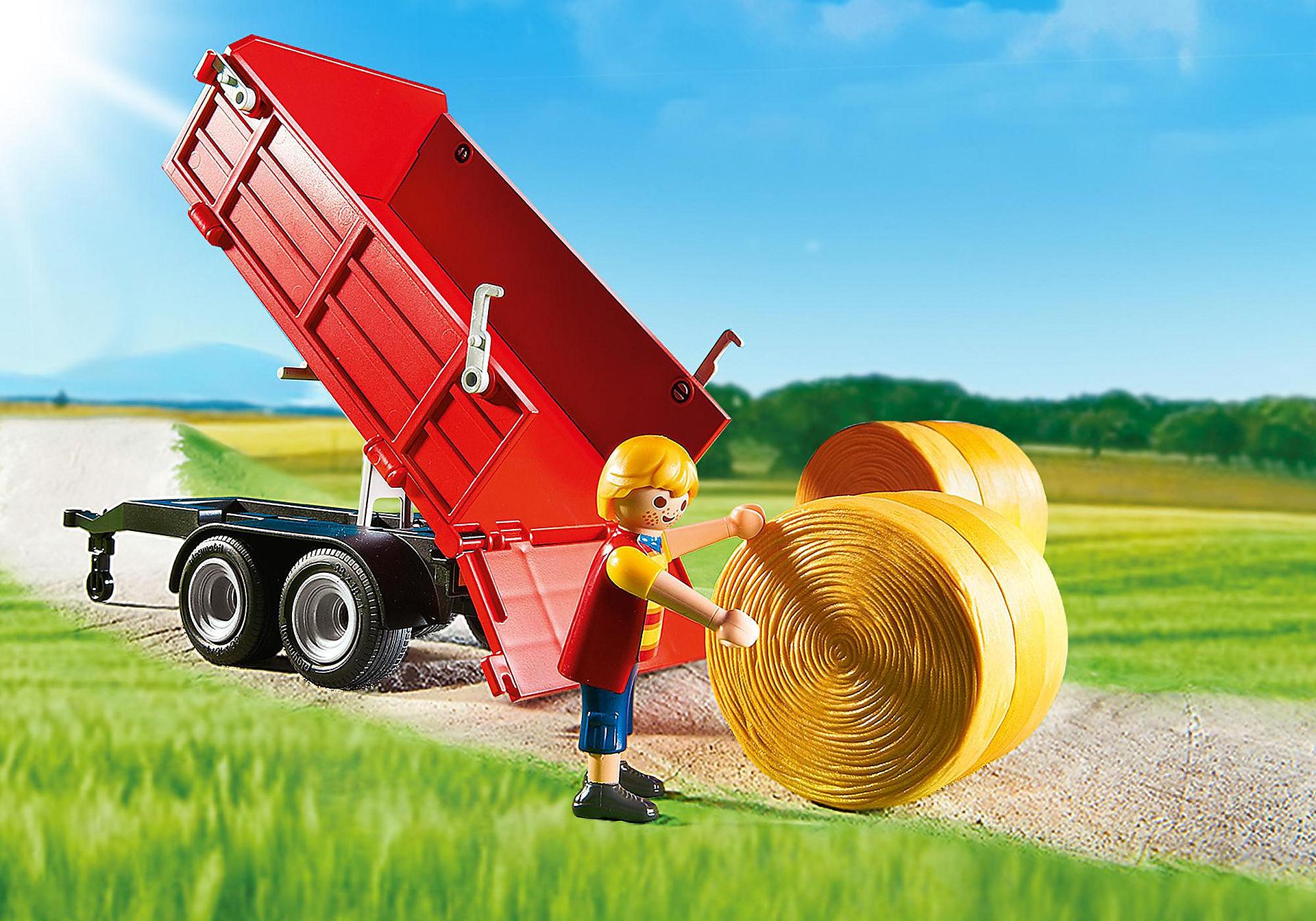http://media.playmobil.com/i/playmobil/6130_product_extra1/Duży traktor z przyczepą