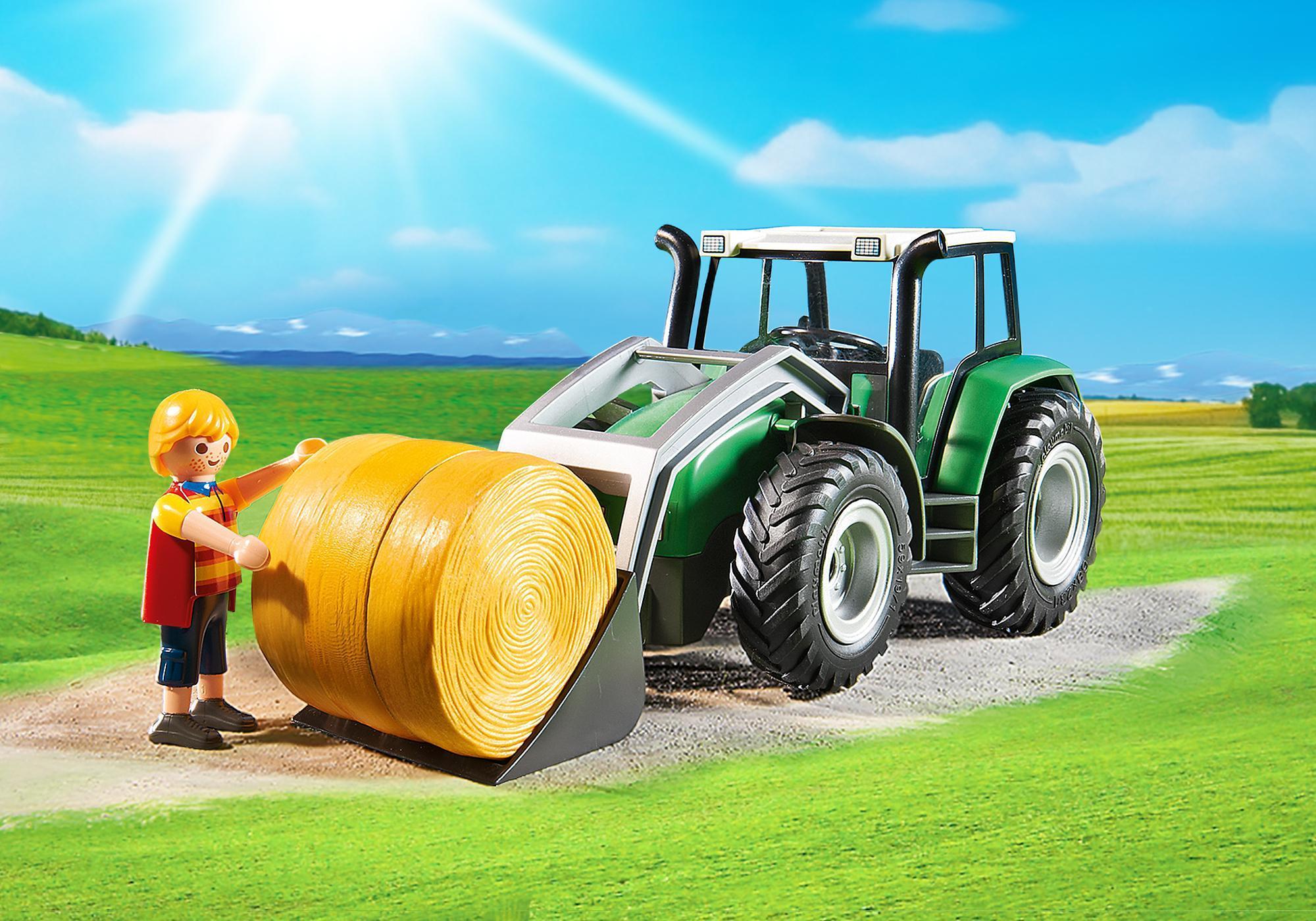 http://media.playmobil.com/i/playmobil/6130_product_extra2/Tracteur avec pelle et remorque