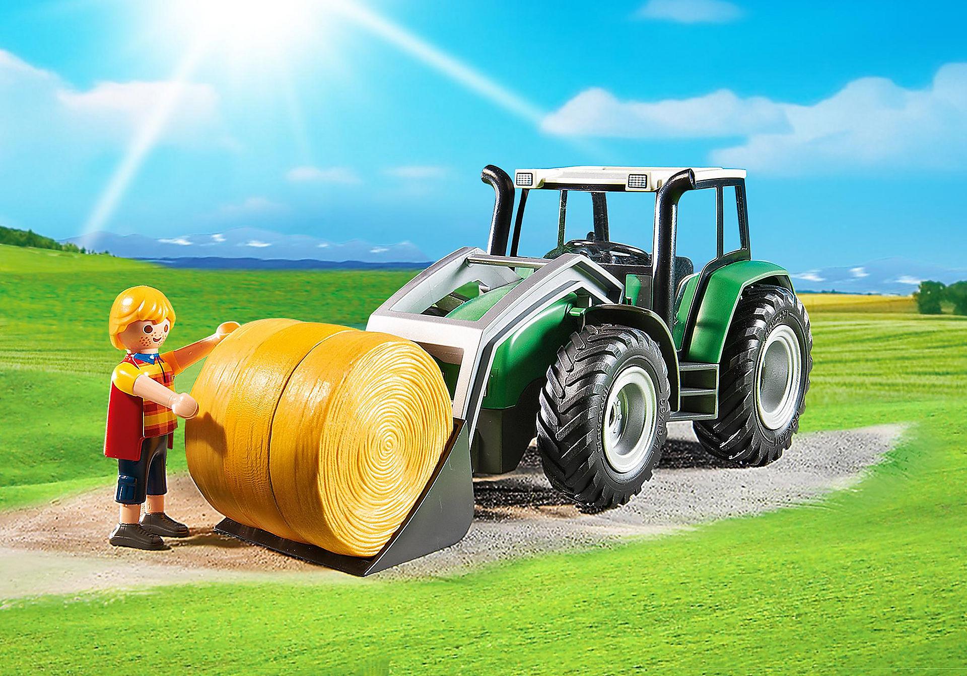 http://media.playmobil.com/i/playmobil/6130_product_extra2/Tractor met aanhangwagen