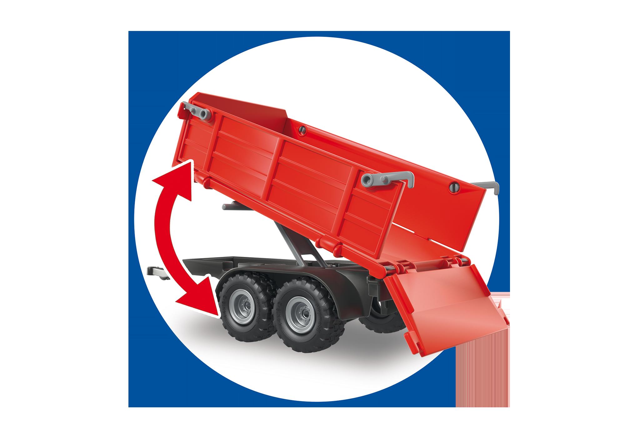 http://media.playmobil.com/i/playmobil/6130_product_extra4/Duży traktor z przyczepą