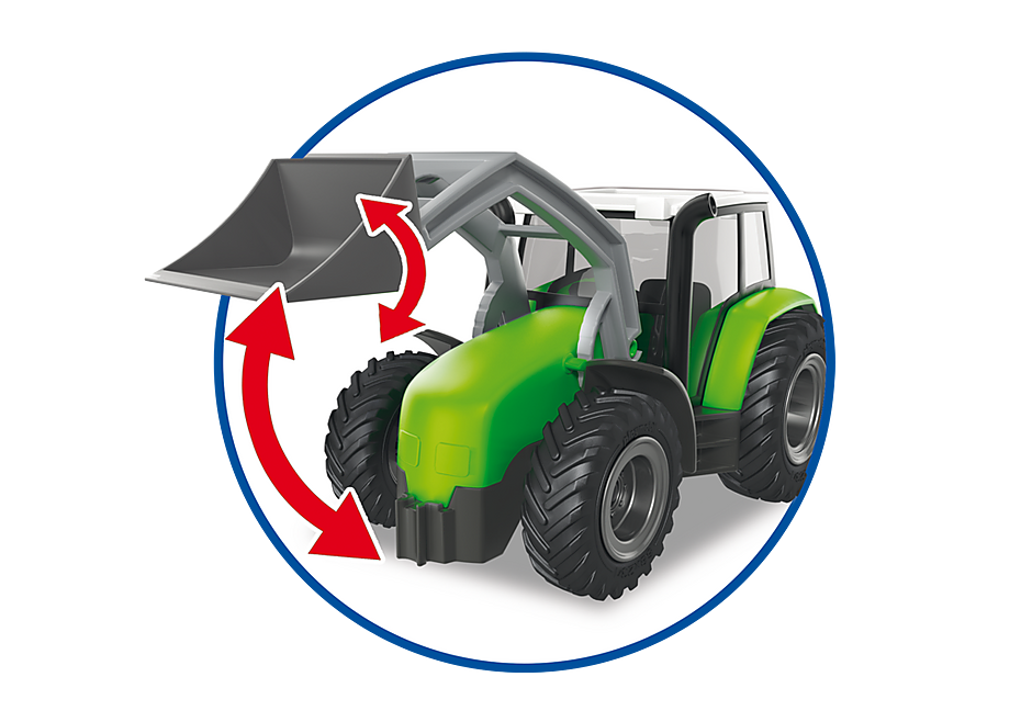http://media.playmobil.com/i/playmobil/6130_product_extra5/Duży traktor z przyczepą