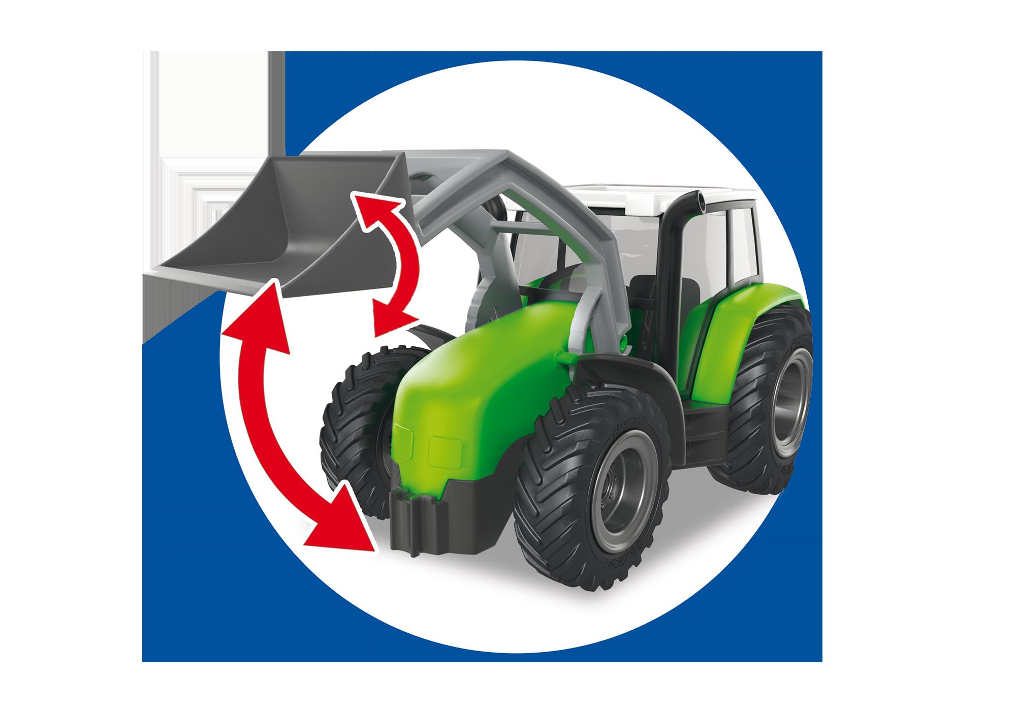 http://media.playmobil.com/i/playmobil/6130_product_extra5/Tracteur avec pelle et remorque