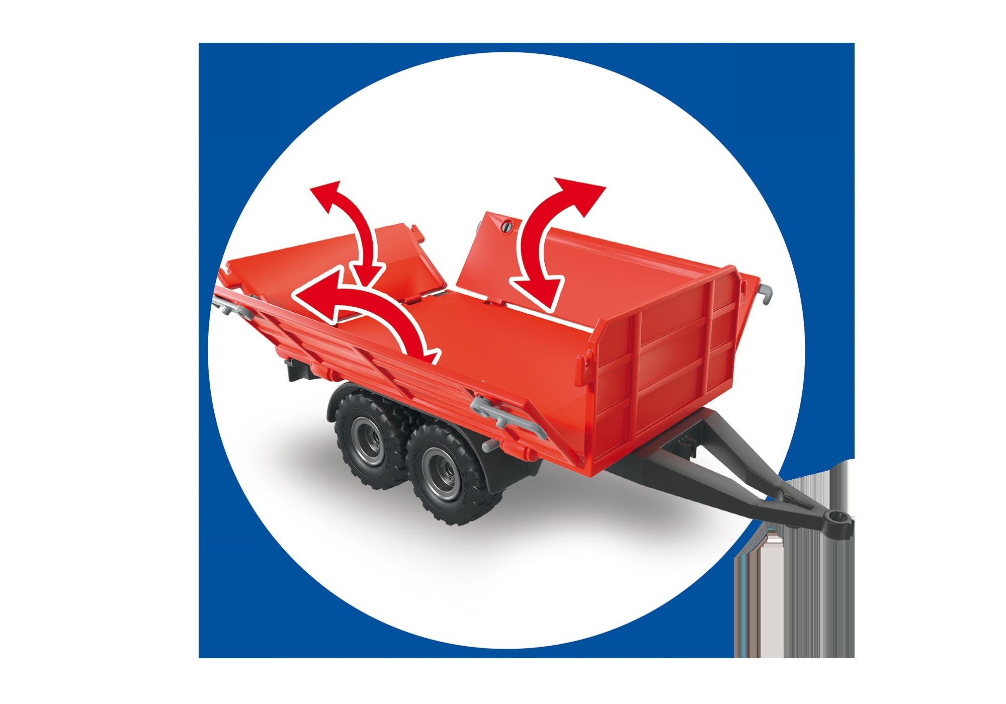 http://media.playmobil.com/i/playmobil/6130_product_extra6/Duży traktor z przyczepą