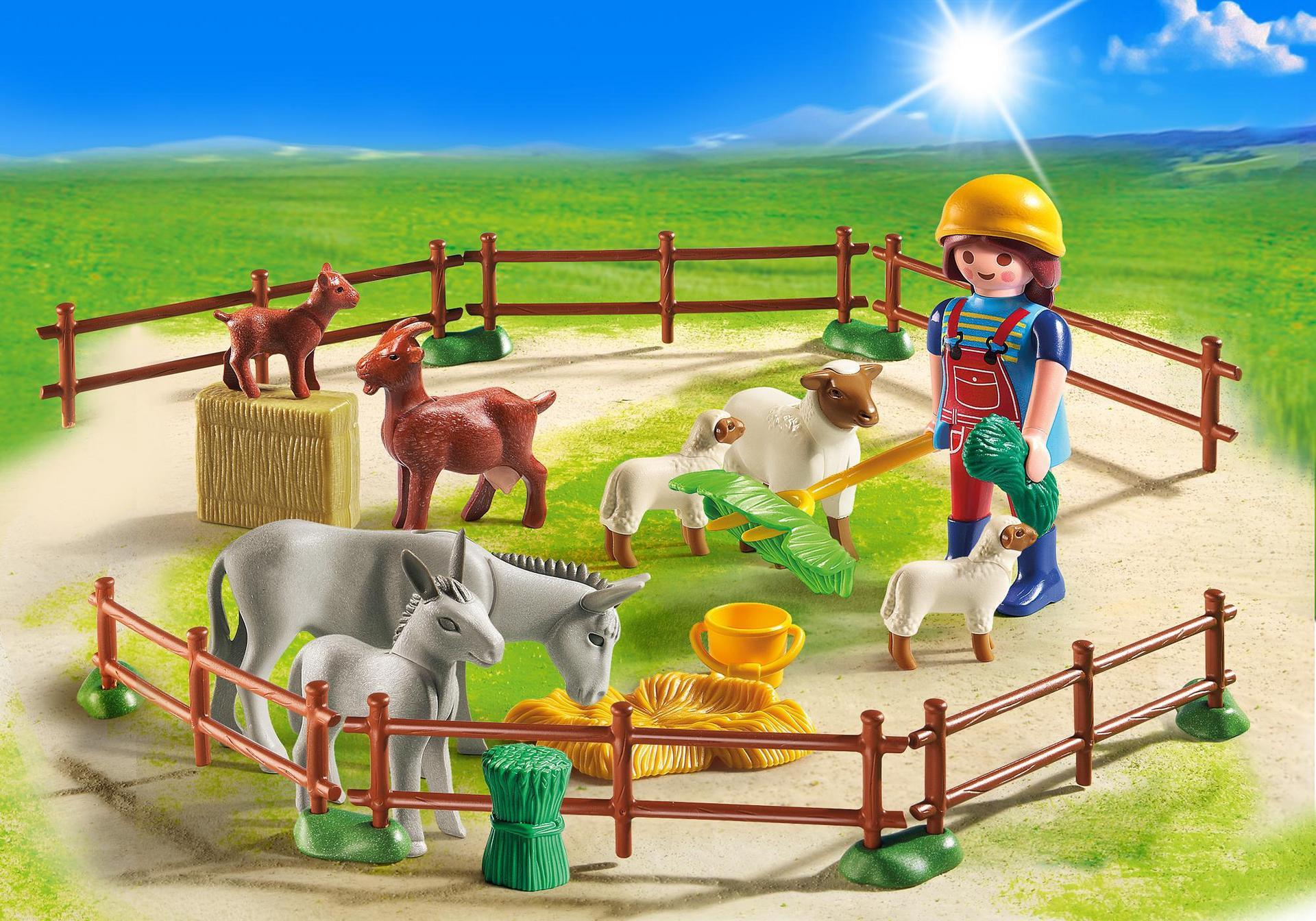 Animales de la granja 6133 playmobil espa a for La granja de playmobil precio