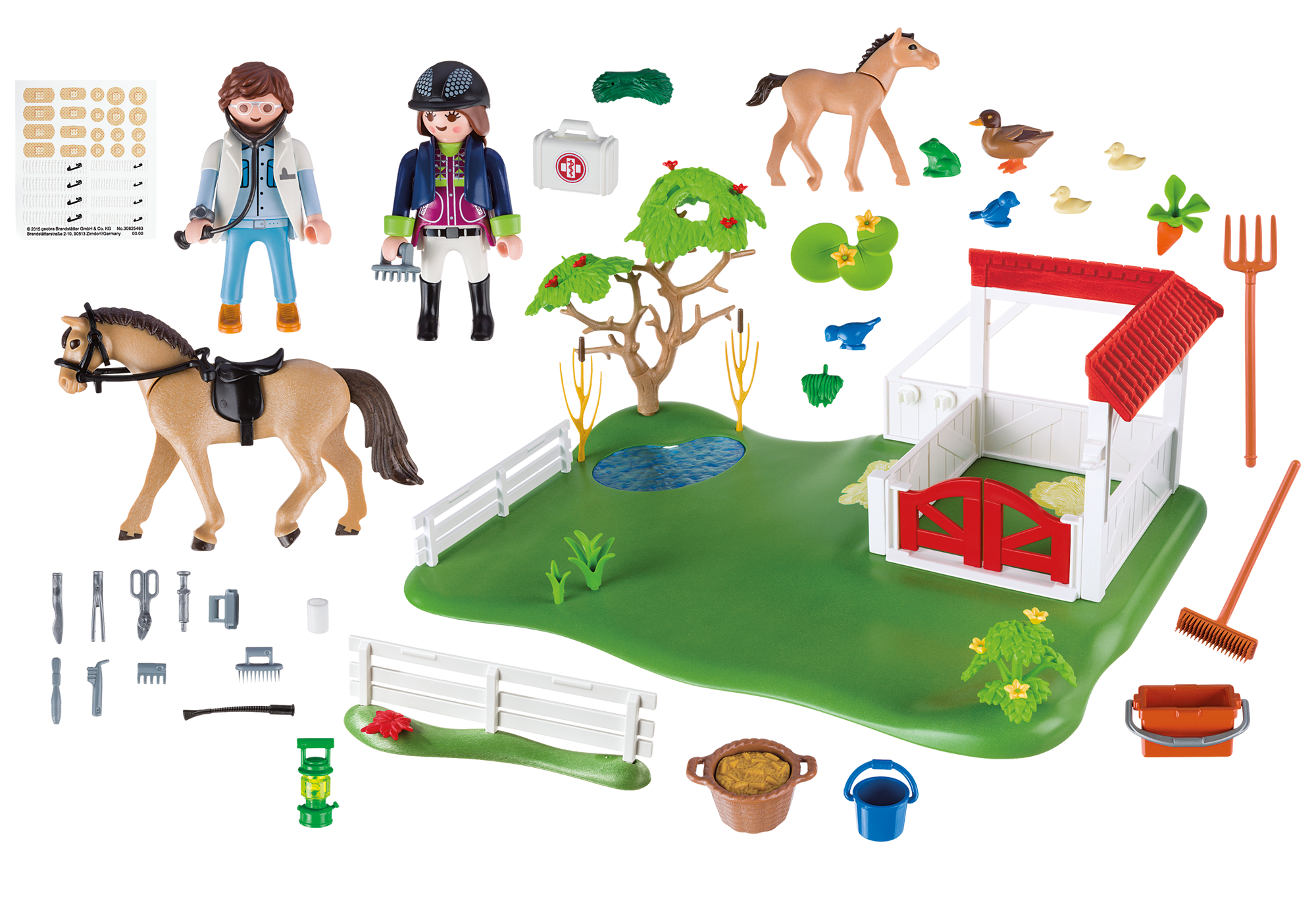 http://media.playmobil.com/i/playmobil/6147_product_box_back/Superset Prado de Caballos