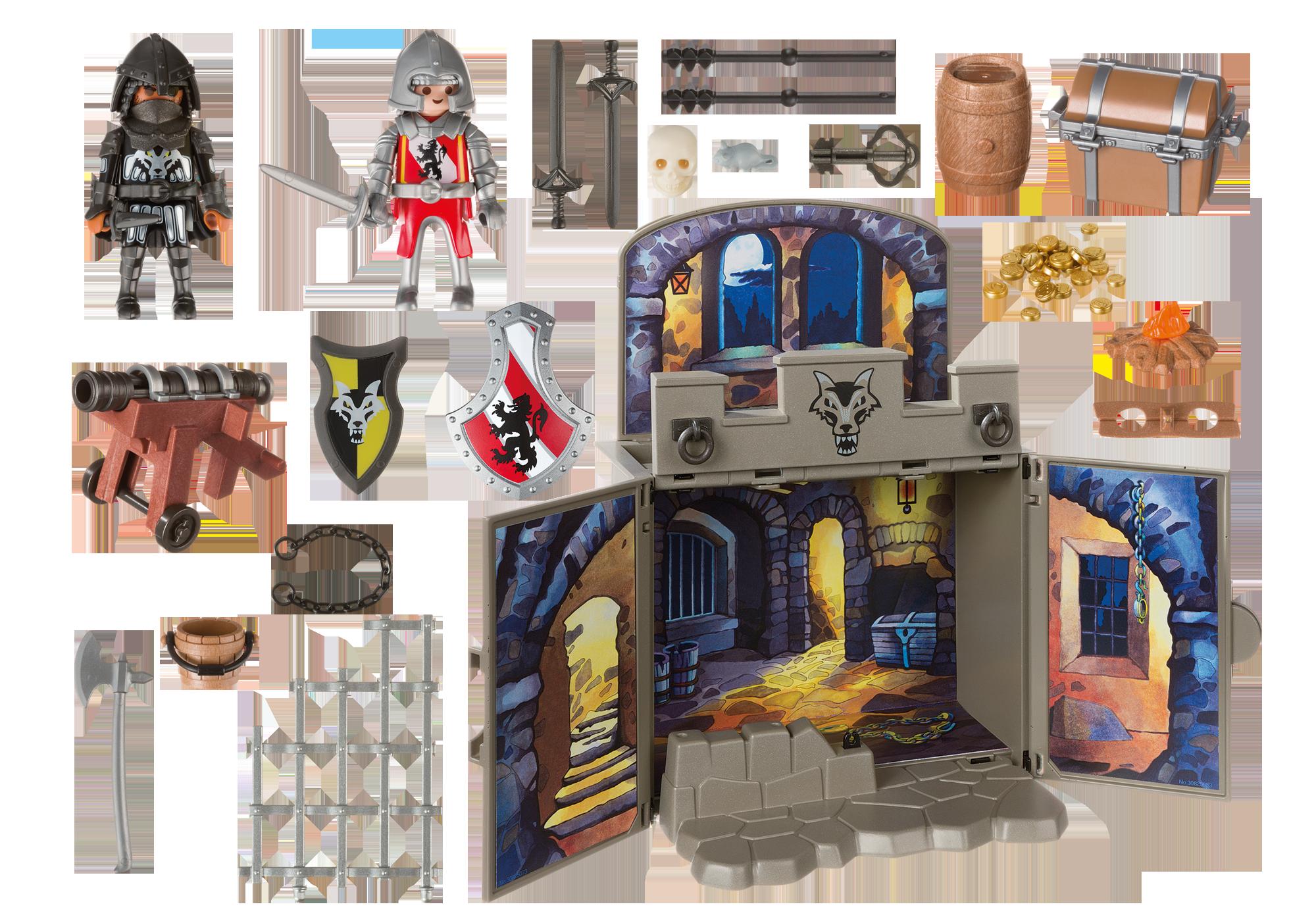 "http://media.playmobil.com/i/playmobil/6156_product_box_back/Aufklapp-Spiel-Box ""Ritterschatzkammer"""