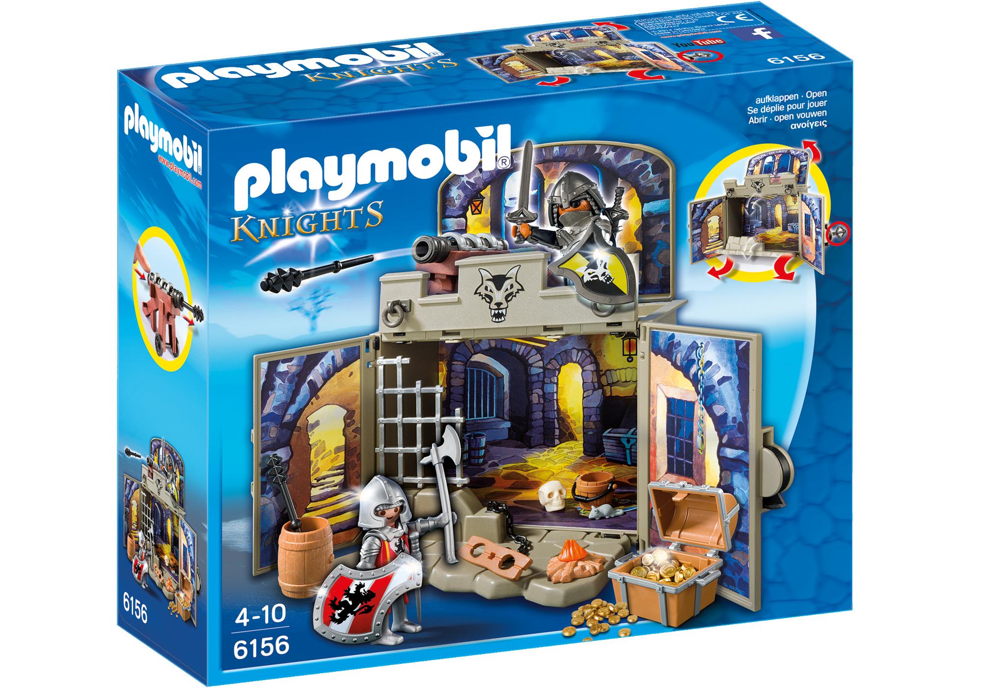 "http://media.playmobil.com/i/playmobil/6156_product_box_front/Aufklapp-Spiel-Box ""Ritterschatzkammer"""