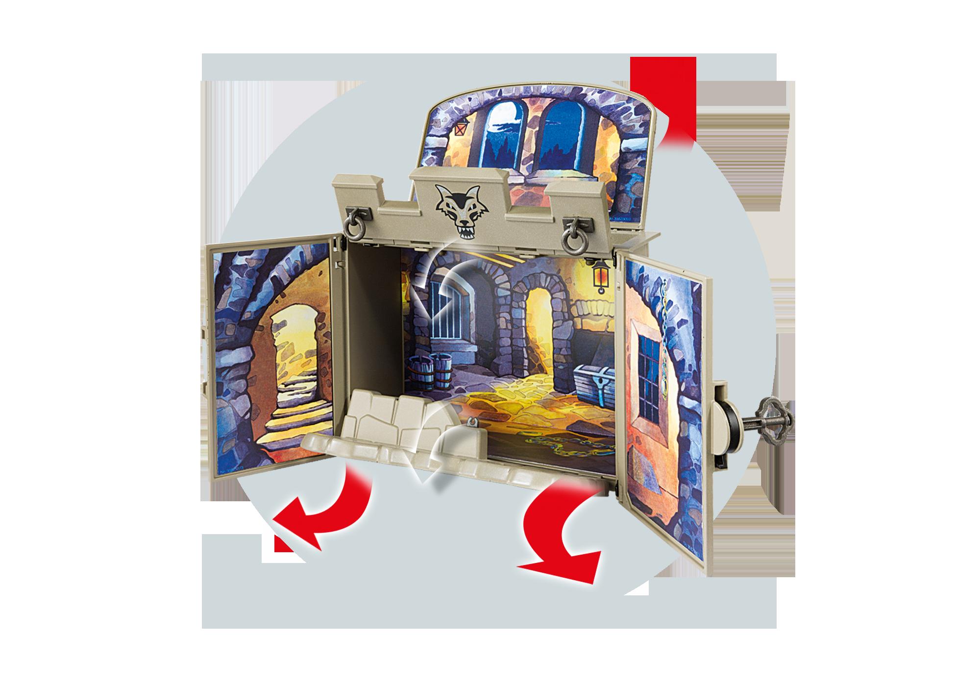 "http://media.playmobil.com/i/playmobil/6156_product_extra1/Aufklapp-Spiel-Box ""Ritterschatzkammer"""