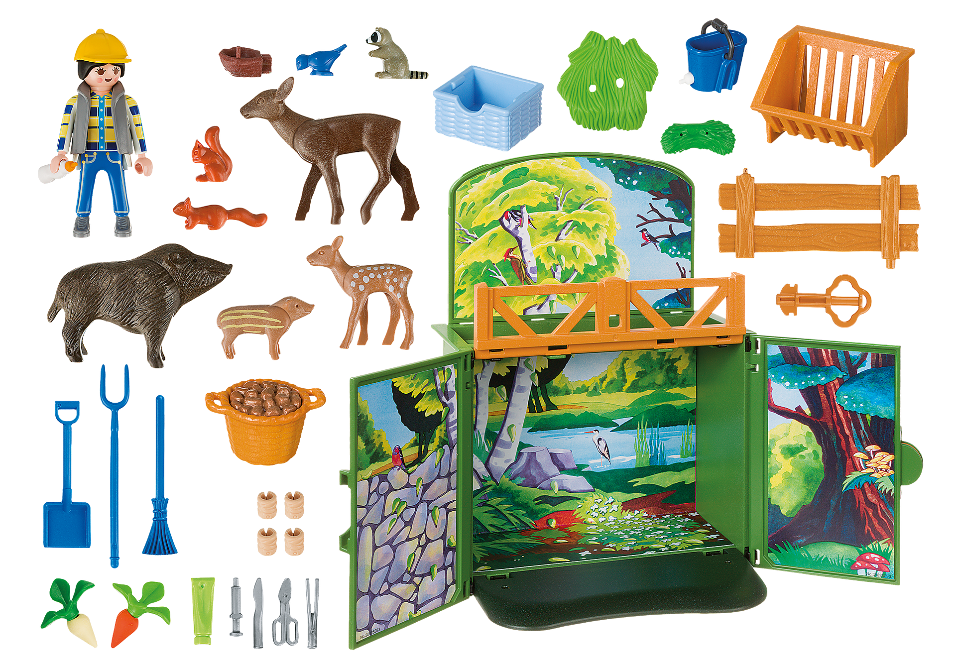 6158 My Secret Forest Animals Play Box zoom image4