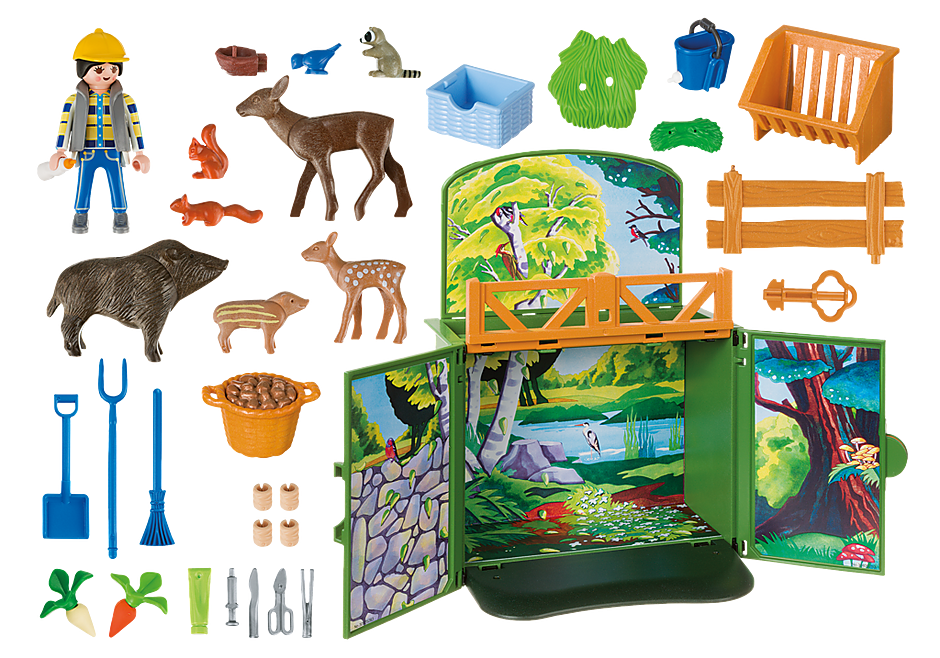 6158 My Secret Forest Animals Play Box detail image 4