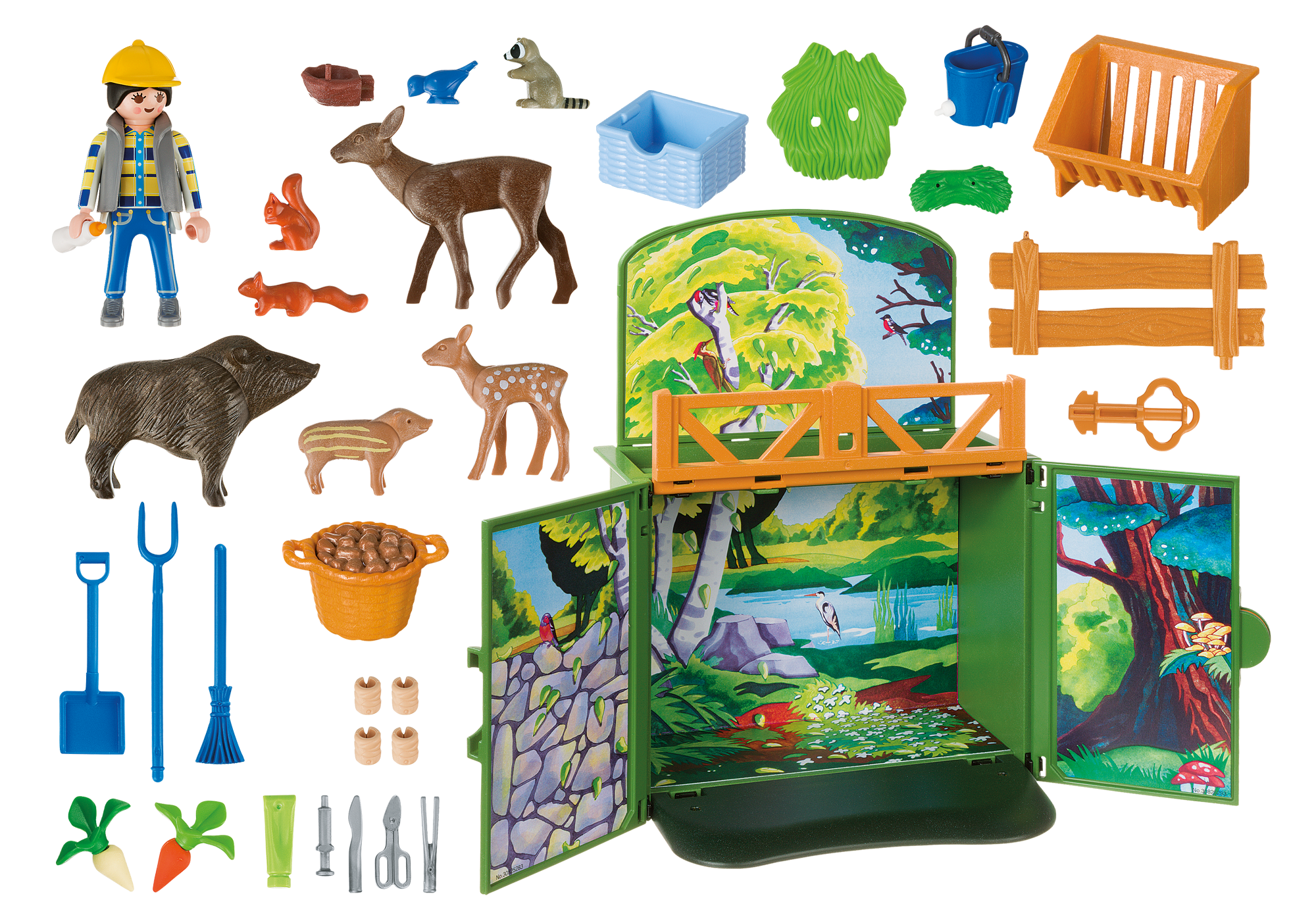 "http://media.playmobil.com/i/playmobil/6158_product_box_back/Speelbox ""Leven in het bos"""