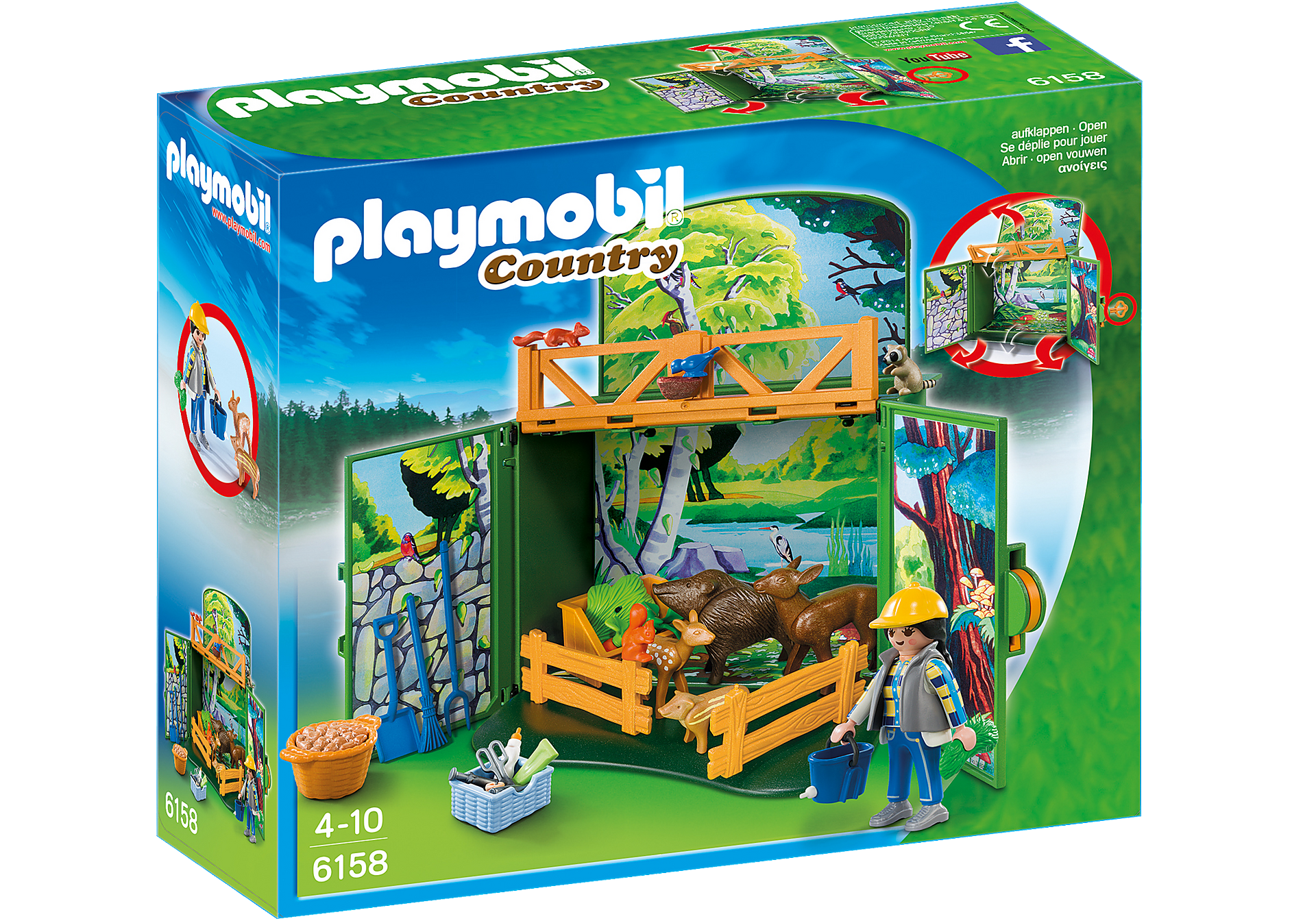 6158 My Secret Forest Animals Play Box zoom image3