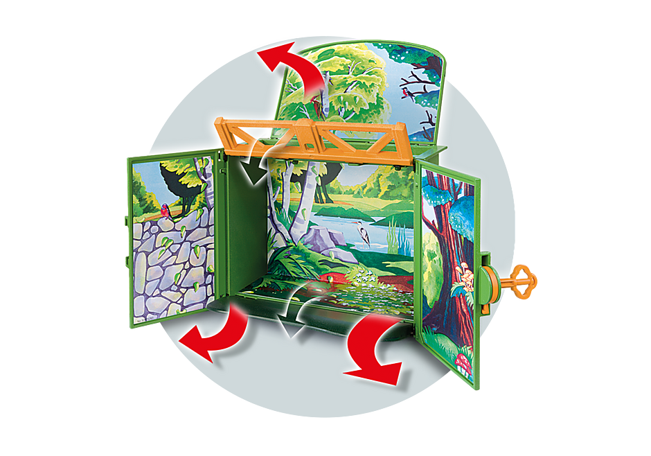 6158 My Secret Forest Animals Play Box detail image 5